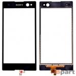 Тачскрин для Sony Xperia C3 (D2533) черный