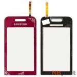 Тачскрин для Samsung La Fleur GT-S5230 красный