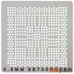 Трафарет для SB700/RD780 / 0.5mm