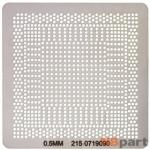 Трафарет для 215-0719090 / 0.5mm