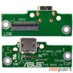 Шлейф / плата ASUS Transformer Pad (TF303CL / TF0330CL / K014) (3G, LTE) TF303CL_USB REV.1.1 на разъем питания